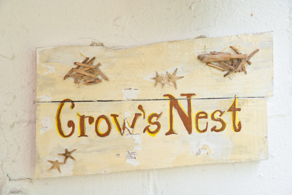 Crow's Nest Door Sign
